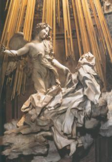 The Ecstacy of St Theresa by Bernini